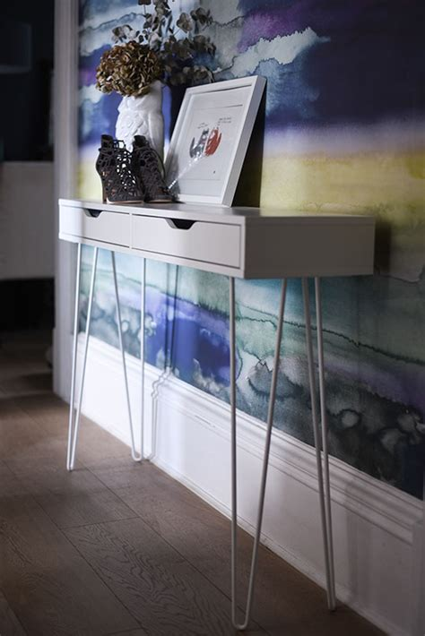 the crazy kitchen ikea ekby alex hairpin console table hack thankfifi uk fashion blog by wendy h gilmour fashion