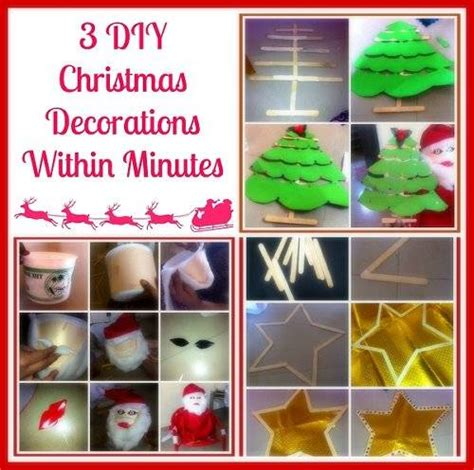 step by step how to make christmas decor 3 diy decorations within minutes step by step photos