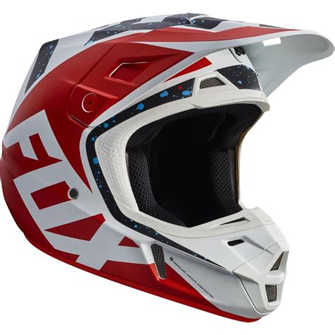 fox motocross gear canada fox racing v2 nirv helmet helmets dirt bike closeout