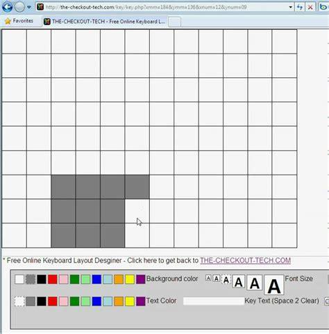 register keyboard template register keyboard layout designer