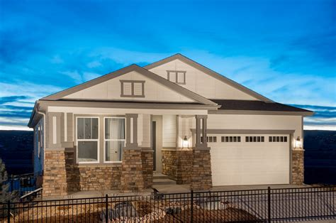 new homes for sale in castle rock co siena community by