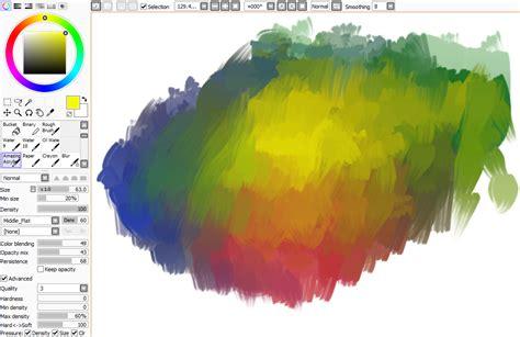 paint tool sai acrylic brush paint tool sai brushes