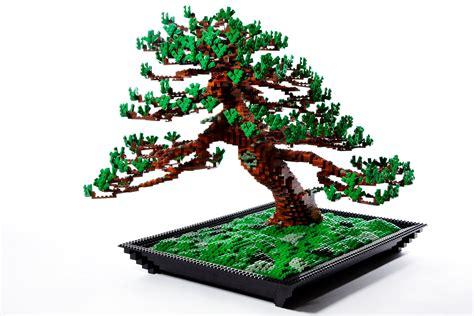 how to make a lego tree lego bonsai tree by makoto azuma spoon tamago