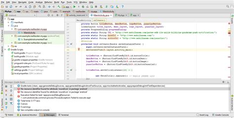 Android Cannot Resolve Symbol by 2 Android Studio R Cannot Resolve Symbol Hatası