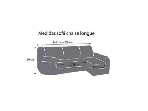 funda sofa ajustable funda chaise longue ajustable eliot fundas ajustables y