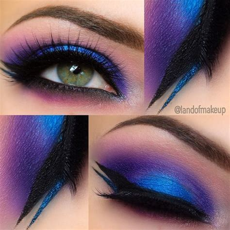 colorful eyeshadow makes a dramatic statement