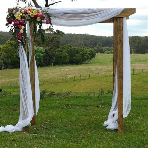 Wedding Arch by Wedding Arch Hire Backdrops Arbours Weddings Melbourne