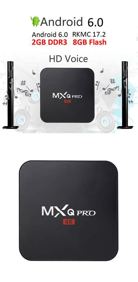 Mxq 4k Rk3229 Smart Tv Box Android mxq pro android 4k smart tv box rk3229