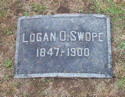 logan oliver swope (1847 1900) find a grave memorial