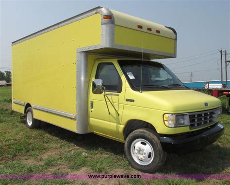 small engine repair training 2004 ford e series electronic valve timing 1995 ford econoline e350 box truck no reserve auction on wednesday august 06 2014