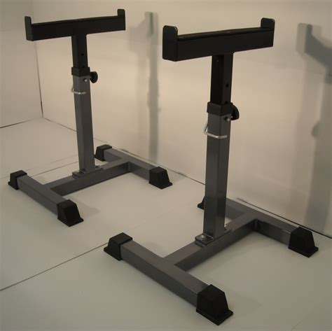 safety stands trap shrug bar bench side racks for support
