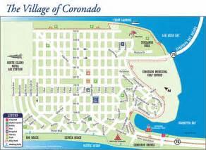 coronado island maps shores cays