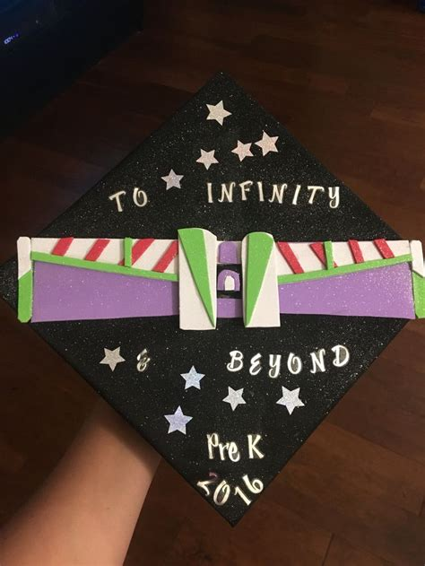 prek graduation cap decoration buzz light year pre