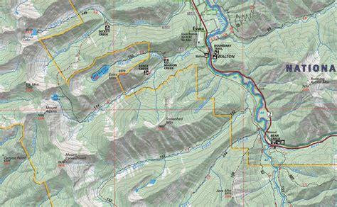 bob locations map bob marshall wilderness map