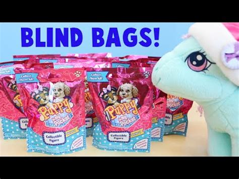 puppy in my pocket blind bag puppy in my pocket blind bags series one with minty review