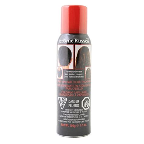 bald spots conditioner odysseus jerome russell spray on hair color thickener