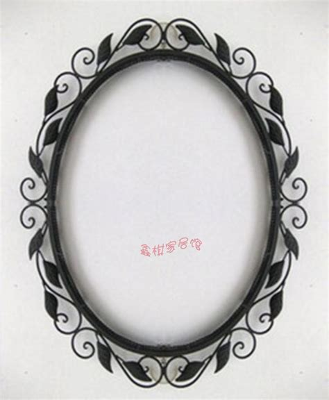 wrought iron bathroom mirror popular oval mirrors bathroom buy cheap oval mirrors