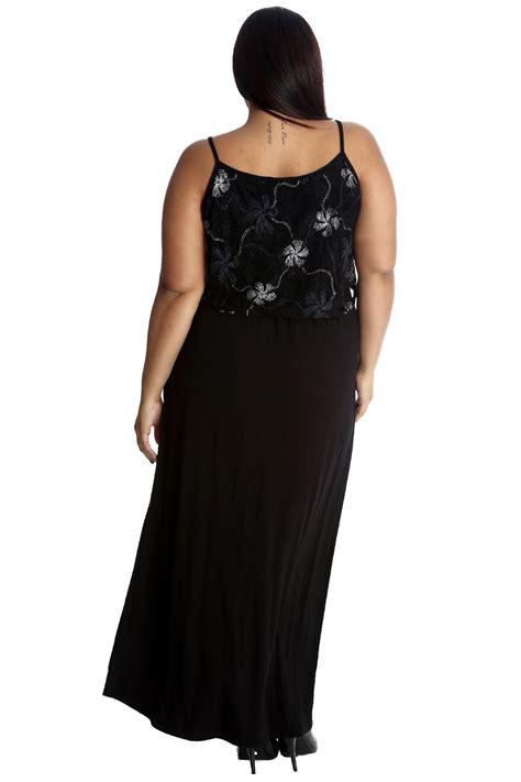 Maxi Friends Foil new plus size dress maxi foil floral top