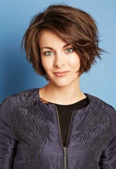cute haircuts for fuller faces best 25 short hairstyles for women ideas on pinterest