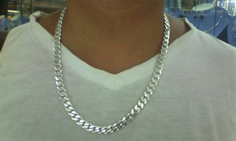 cadena gruesa de plata italiana 75 2 gramos u s 200 00 - Cadenas De Plata Italiana