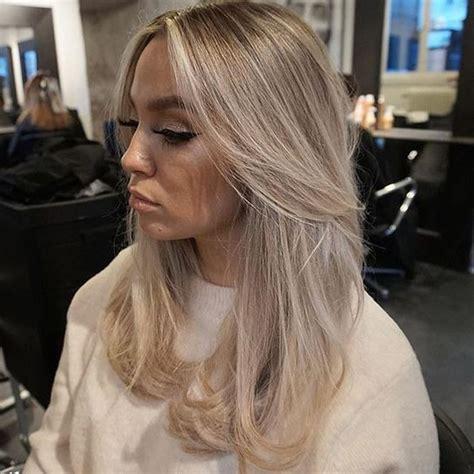 most beautiful blonde otc dye стрижка на длинные волосы придающая объем фото