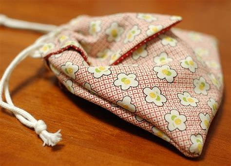 Origami Purse Pattern - origami drawstring bag tutorial sewing tutorials and