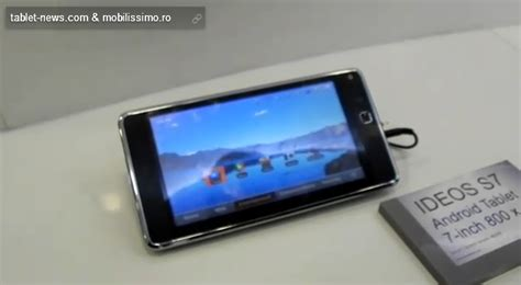 Baterai Tablet Huawei Ideos S7 mwc 2011 huawei ideos s7 on features detailed gsmdome