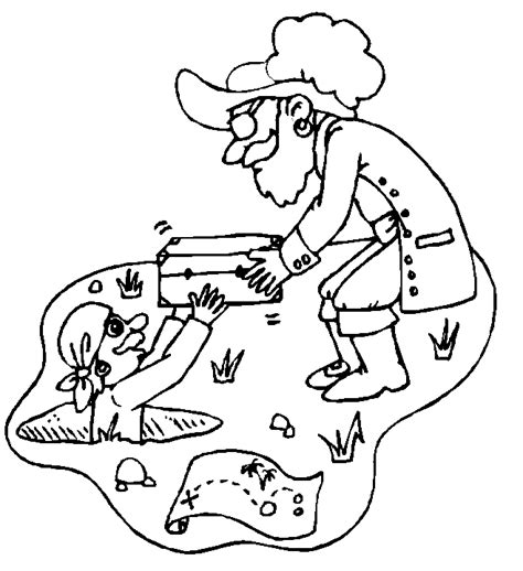 free pirate mazes coloring pages