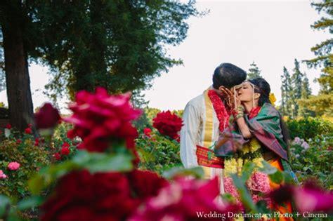 Indian Garden Flowers San Jose California Indian Wedding By Wedding Documentary Photo Cinema Maharani Weddings