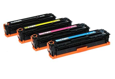 Toner Printer Hp Hp Cp1215 Toner Combo Pack 125a Cb540a Cb541a Cb542a Cb543a