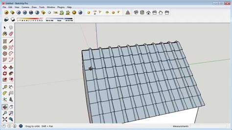 tutorial sketchup autocad sketchup tutorial realistic roof youtube