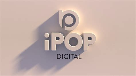 tutorial logo cinema 4d ipop logo cinema 4d on behance