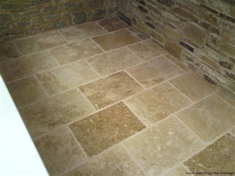 adhesive and coloured grout for noce travertine