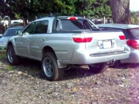subaru baja lifted subaru baja lift kit html autos post