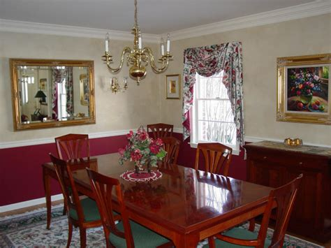painting dining room surfaces with paint color wash finishes