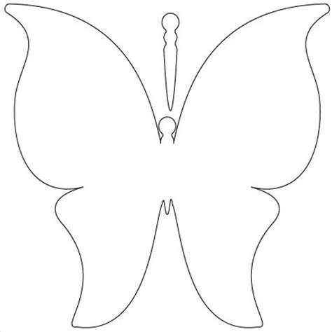 free butterfly card template 28 butterfly templates printable crafts colouring