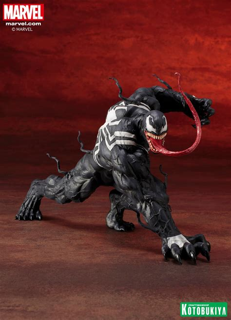 kotobukiya marvel comics venom artfx statue the toyark news