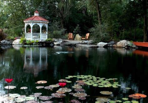 cool backyard pond design ideas digsdigs