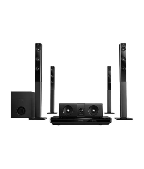 Best Philips Home Theater System Buy Philips Htd5580 5 1 Dvd Home Theatre System At