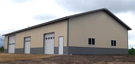 not only is this a beautiful garage pole building but the picture overhang options for pole buildings portland oregon