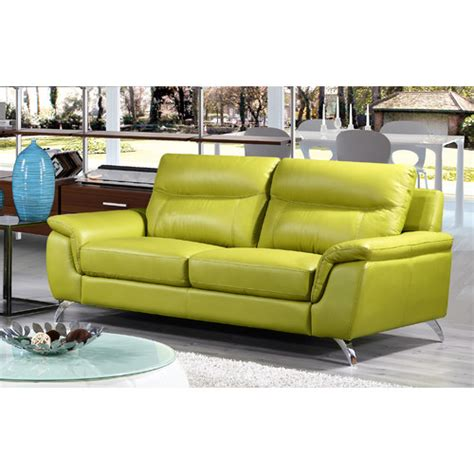 Leather Sofas Chicago Chicago Leather Sofa Wayfair