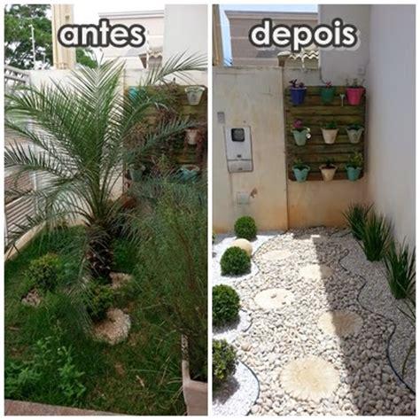 jardim decorado pedras e grama jardim de pedra olha o que eu sei fazer