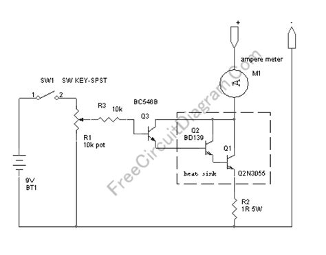 variable load resistor circuit diagram variable high power resistor for power supply testing circuit wiring diagrams