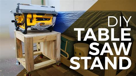 table saw stand wheels diy how to a tablesaw stand