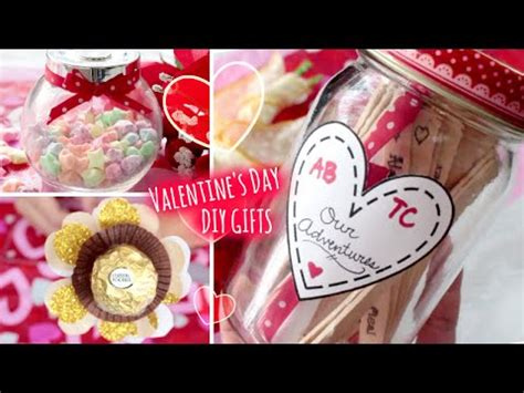 diy valentine's day gifts ideas l quick and easy gift to