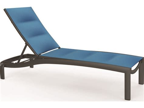 Sling Chaise Lounge Tropitone Kor Padded Sling Chaise Lounge Armless 891533ps