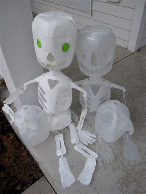 craft some halloween decorations for the holiday milk