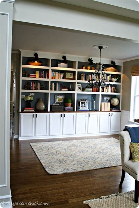 diy built ins with stock cabinets diy built in library bookcases stock kitchen