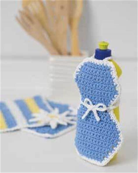 apron pattern for soap bottles soap apron crochet pattern favecrafts com