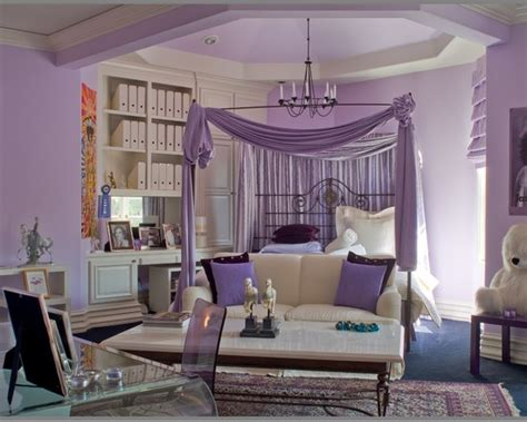 Bedroom Decorating Ideas Purple And White Modern Purple Bedroom Design Ideas White Bed And Purple